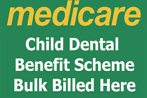 Child dental benefit scheme bulk billed