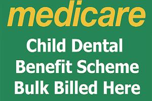 Child dental benefit scheme bulk billed